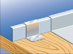 Standing Seam Fixed Clip 38mm x 1000