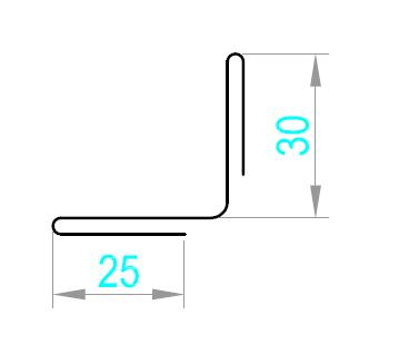 External Corner Flashing (Aurubis Copper)